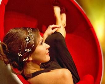 Swarovski Crystals Hair Accessory Vine Headband