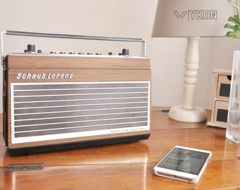 Bluetooth speaker Bluetooth radio gift for man transistor iPhone speaker vintage gift for men portable kitchen decor kitchen retro men