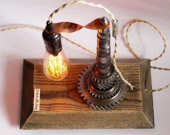 Handmade Industrial Table Lamp Pride&Joy