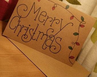 Christmas Lights 'Merry Christmas'