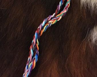 Double Braid Friendship Bracelet - Personalized Handmade Bracelet - Choose Your Colors!