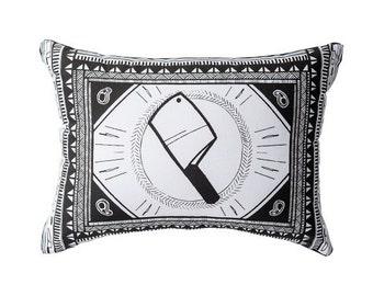 Modern Black and White Design Cushion/ Pillow