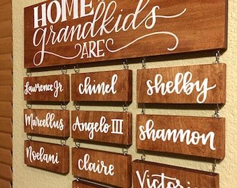 Home is Where the Grandkids Are (Large)