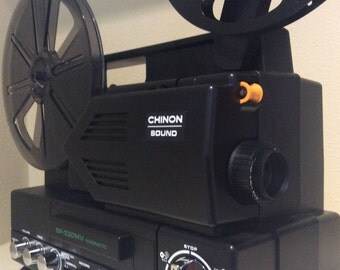 CHINON SP-330MV Sound Super 8 Movie Film Projector