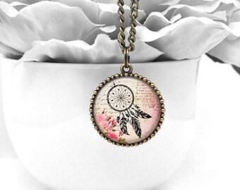 Feather Necklace, Brass Necklace, Boho Jewelry, Pendant Necklace, Boho Necklace, Resin Necklace, Resin Jewelry, Gift for Her, Resin Pendant
