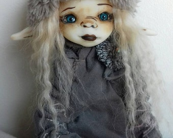 Loula  - Ooak articulated art doll (WORLDWIDE SHIPPING INCLUDED)