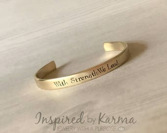 USMA Class Motto Bracelet, Proud West Point Mom, WP Mom, Personalized Cuff Bracelet, Military Jewelry, gifts under 30, personalized gifts