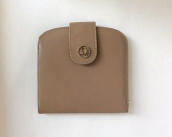 Vintage Cowhide Dior Wallet, Made in Spain, Used