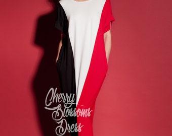 Long Summer dress/ Maxi dress/ Casual dress/ Long maxi dress/ Kaftan/ Plus size dress/ Plus size clothing/ Beach dress/ Plus size kaftan