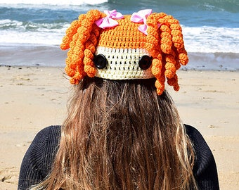 LaLaLoopsy -Inspired Character Crochet Hat