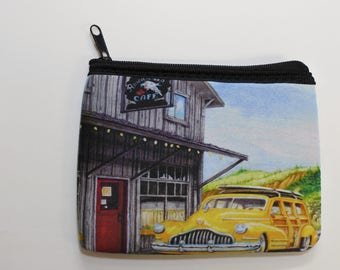 Woodie coin purses