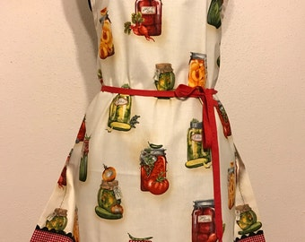 "Women's Full Apron ""The Art of Canning"""