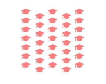 Graduation Cookie Stencil, 5.5 x 5.5, Graduation Stencil, Grad Stencil, Grad Cap Cookie, Graduation Sugar Cookie, Graduation Fondant Cookie