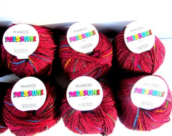 65%Off//KNITTING WOOL/COTTON//Missoni Pharos, by Filatura Di Crosa.A Blend of/Cotton/Acrylic. Made in Italy./Was/(300.00)*20/50gr.balls Now!
