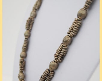 ETHIOPIAN RINGED CHAIN - Old Ethiopian Necklace, From Ethiopia Africa