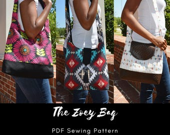 The Zoey Bag - PDF Sewing Pattern