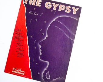 Vintage 'The Gypsy' Sheet Music