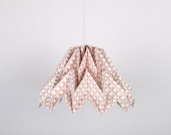 Fuji Lamp Seventies // origami paper lampshade