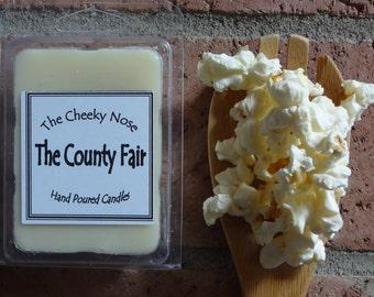 Popcorn Melts, Kettle Corn Melts, Soy Melts, Soy Tarts, Scented Melts, Scented Tarts, Popcorn Tarts, Kettle Corn Tarts, County Fair Melts