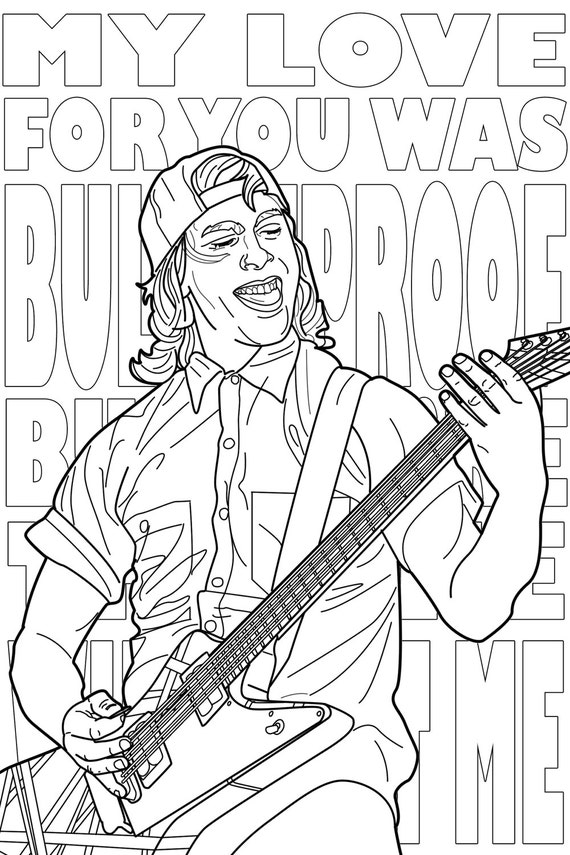 There S A New Pop Punk Coloring Book And You Re Gonna