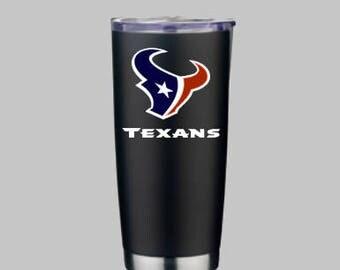 Houston Texans Tumbler