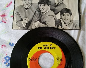 Beatles Single I Saw Her Standing There