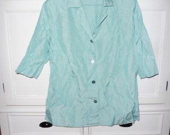 Shirt and top EUGEN KLEIN size 48 en - 1980s