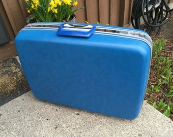 Vintage Samsonite Hard Sided Suitcase in Mint Condition Retro Luggage