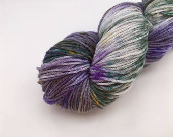 Hand dyed yarn NZ sock 80/20-'Cold water diving'