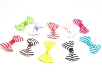 50 knots with multicolored stripes mini