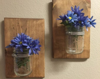 mason jar wall decor rustic wall sconces rustic country home decor hanging mason jars rustic sconces