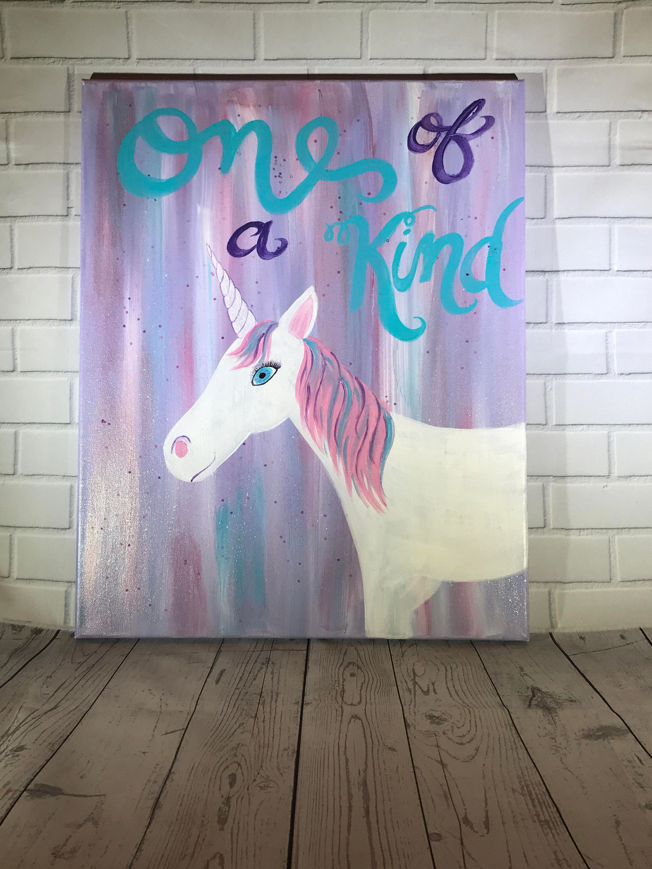 unicorn canvas painting customizable zoom