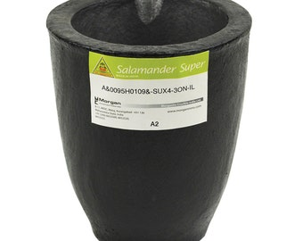 A2 2.5 Kg Salamander Crucible Super Clay Graphite For Melting and Casting Gold Silver Copper Brass Jewelry Making - CRU-0075