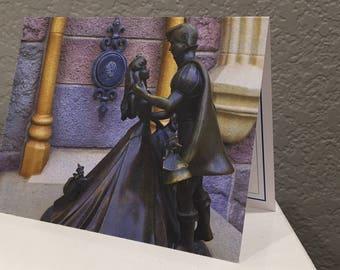 Sleeping Beauty Disney Blank Card