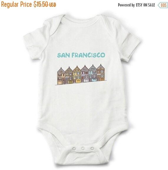 Baby Gift Baskets San Francisco : Off sale san francisco baby shirt cute gift