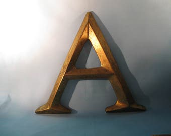 """Large Alphabet Letter """"A"""""""