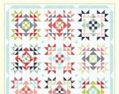 """Beach Day Quilt Pattern by Bonnie Olaveson of Cotton Way - 1005 Finished Quilt Size 85"""" x 85"""""""