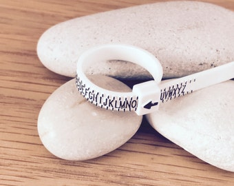 Ring Sizer Ring Gauge measure your Ring Size for Custom Rings