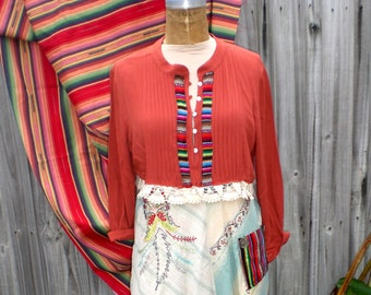 SOUTH WESTERN UPCYCLED Dress