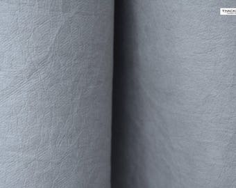 Vegan leather (washable paper) - WRINKLED GRAY - perfect for bags, totes, product labels, you name it!