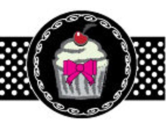 Homebaker Stationery, CupCake and Ribbon Set 1, Logo, Letterhead, Business Card, Comp Slip