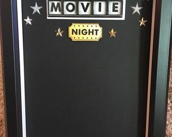 Movie Ticket Storage Shadow Box
