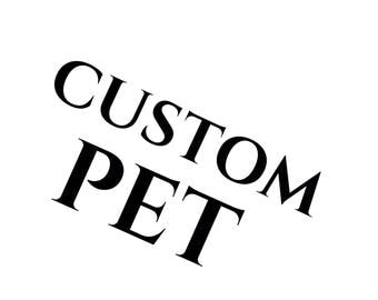"7x5"" custom pet portrait"