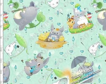 New Arrival Totoro Design, digital printing, custom knit fabric - 1 meter