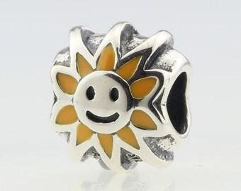 New Authentic Pandora Smiling Sunshine charm 790532EN20