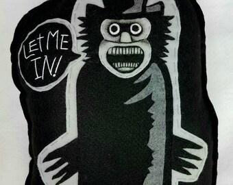 Large Babadook Felt Horror Goth Plush Hand Sewn