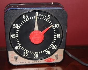 1985 Industrial Timer Co. Time-O-Lite Darkroom Timer