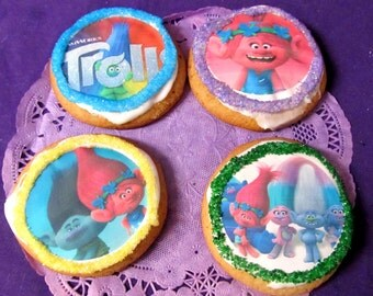 12 Singing Troll cookies