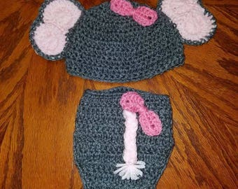 Newborn elephant outfit
