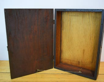 Beautiful 1960's Wood Cabinet/ Box
